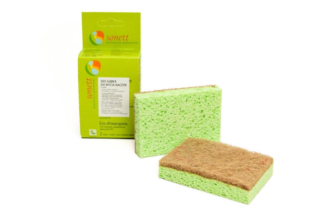 gąbki do mycia naczyń marki Sonett